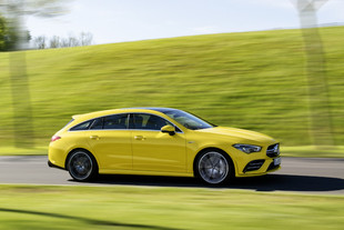 Essai MERCEDES AMG CLA 35 4Matic Shooting Brake