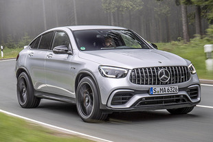 MERCEDES AMG GLC Coupé S 63 4Matic+