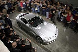MERCEDES SLR McLaren - Salon de Francfort 2003.com
