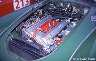 MG A Twin Cam