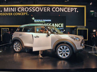 MINI Crossover Concept - Mondial automobile 2008.com