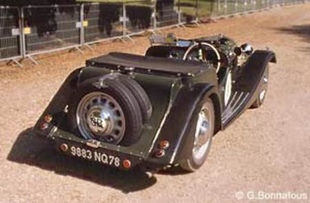 MORGAN Four Four Flat Rad