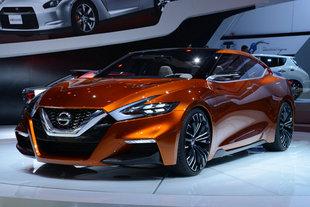 NISSAN Sport Sedan Concept - Salon de Detroit 2014.com