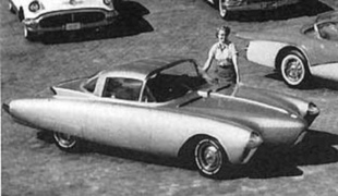 OLDSMOBILE Golden Rocket - Les concept cars de la General Motors   - Page 3.com