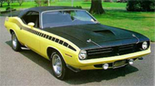 Les muscle cars américains : PLYMOUTH Barracuda