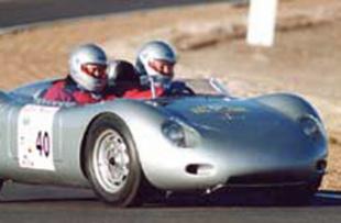 PORSCHE 550 RSK spider - Tour d'Espagne 2000  .com