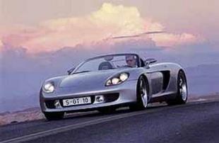 PORSCHE Carrera GT - Mondial de Paris 2000.com