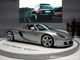 PORSCHE Carrera GT - Salon de Genève 2003.com