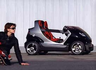 SMART Crossblade - Salon de Genève 2001.com