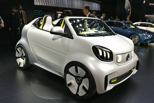 Mondial de l'Automobile 2018 : SMART Forease
