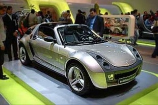 SMART Roadster - Mondial de Paris 2002.com