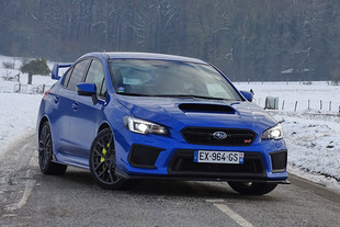 SUBARU WRX STI Legend Edition