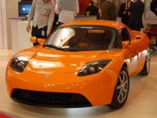Mondial automobile 2008 : TESLA Roadster