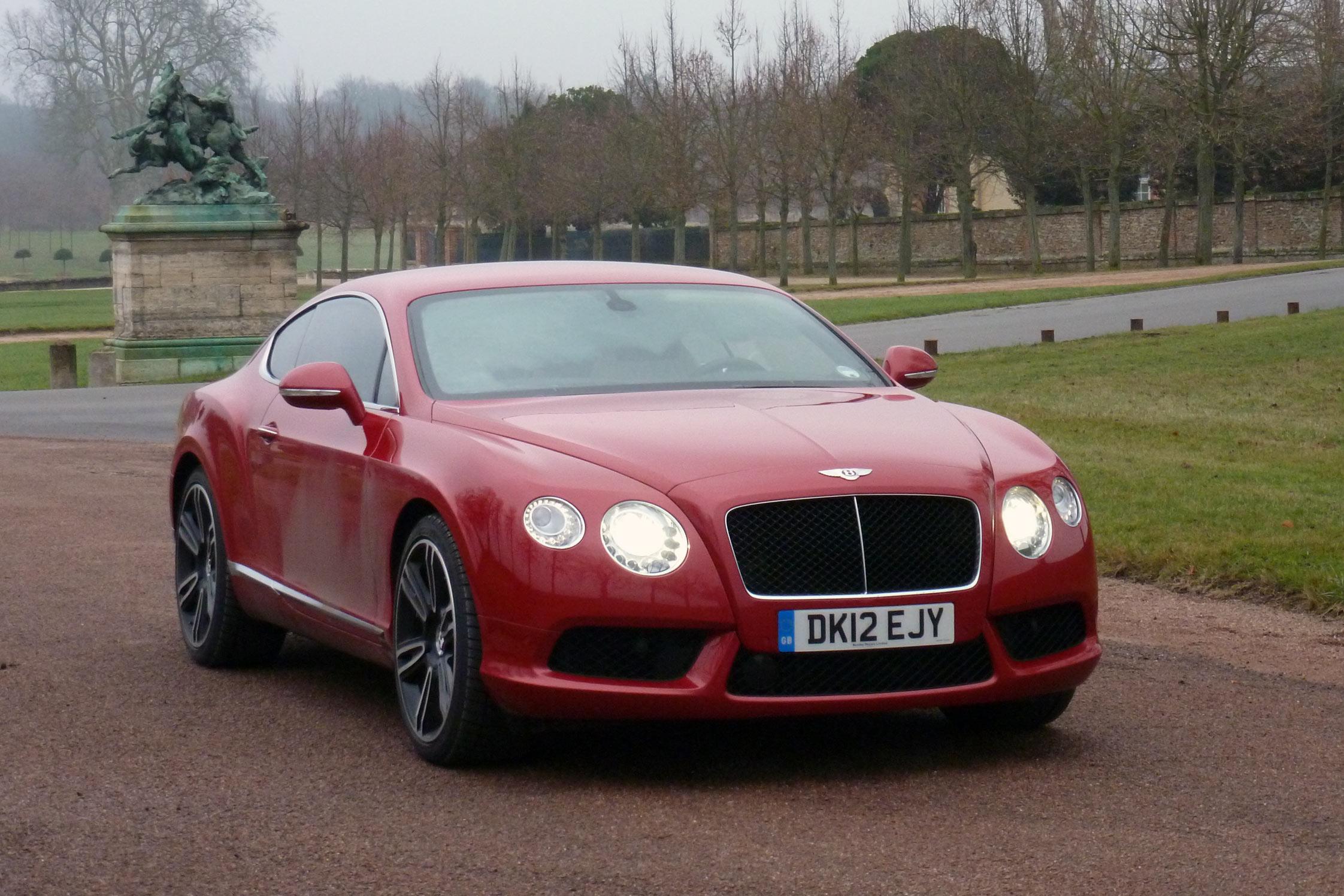 Essai Bentley Continental Gt V8 Motorlegend