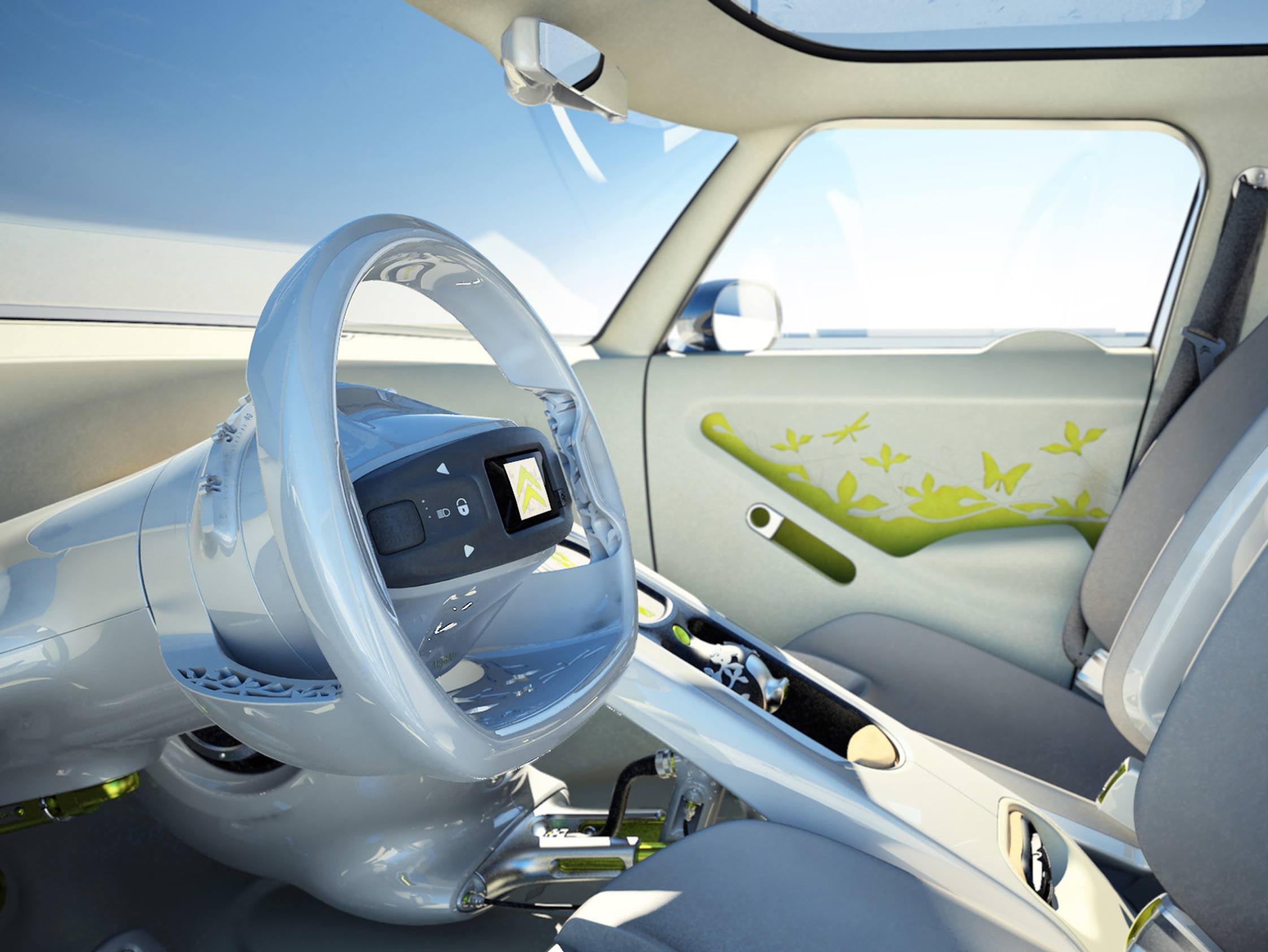 citroen c cactus lectrique mondial automobile 2008. Black Bedroom Furniture Sets. Home Design Ideas