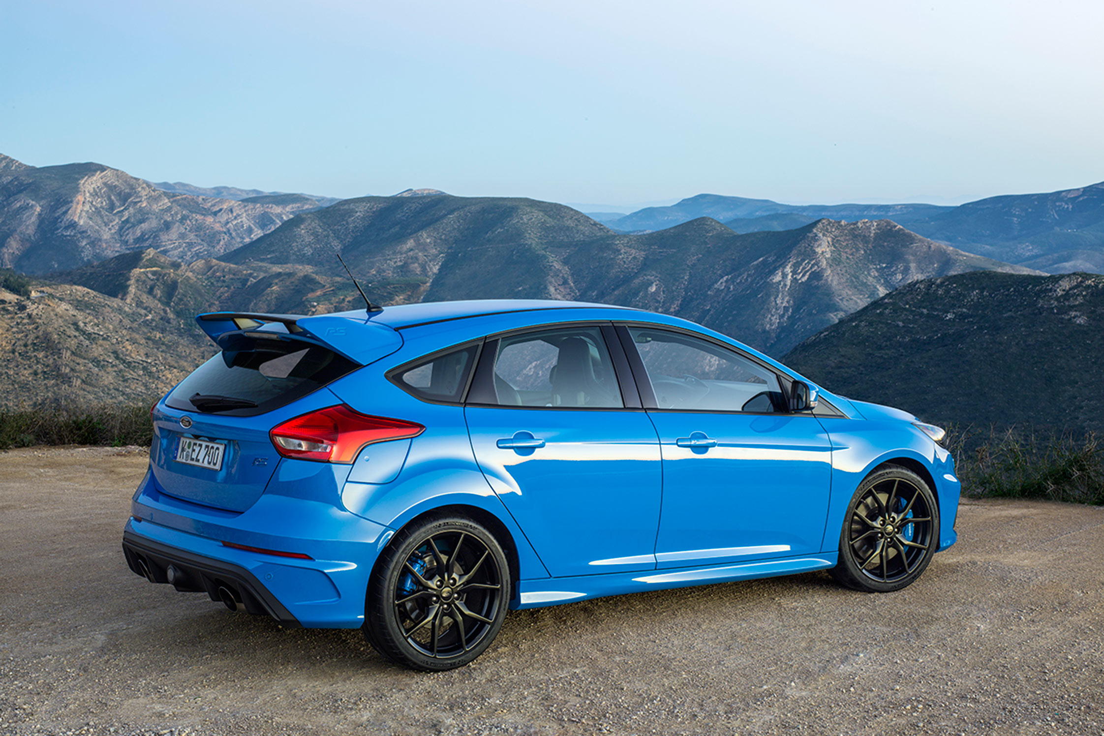 Essai FORD Focus RS - Motorlegend