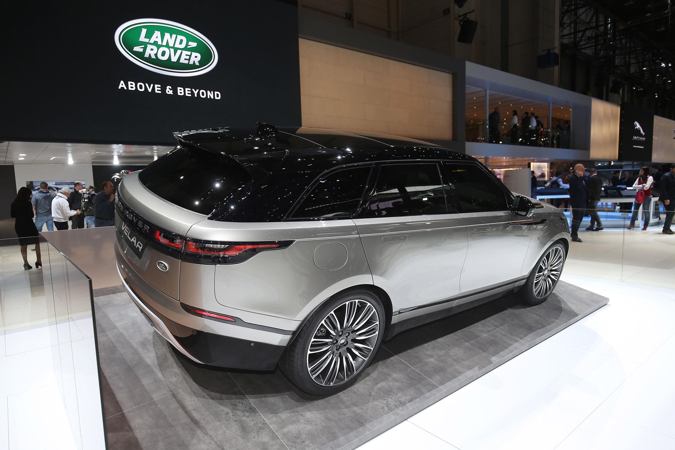 Velar Land Rover >> LAND ROVER Range Rover Velar - Salon de Genève 2017 - Motorlegend.com