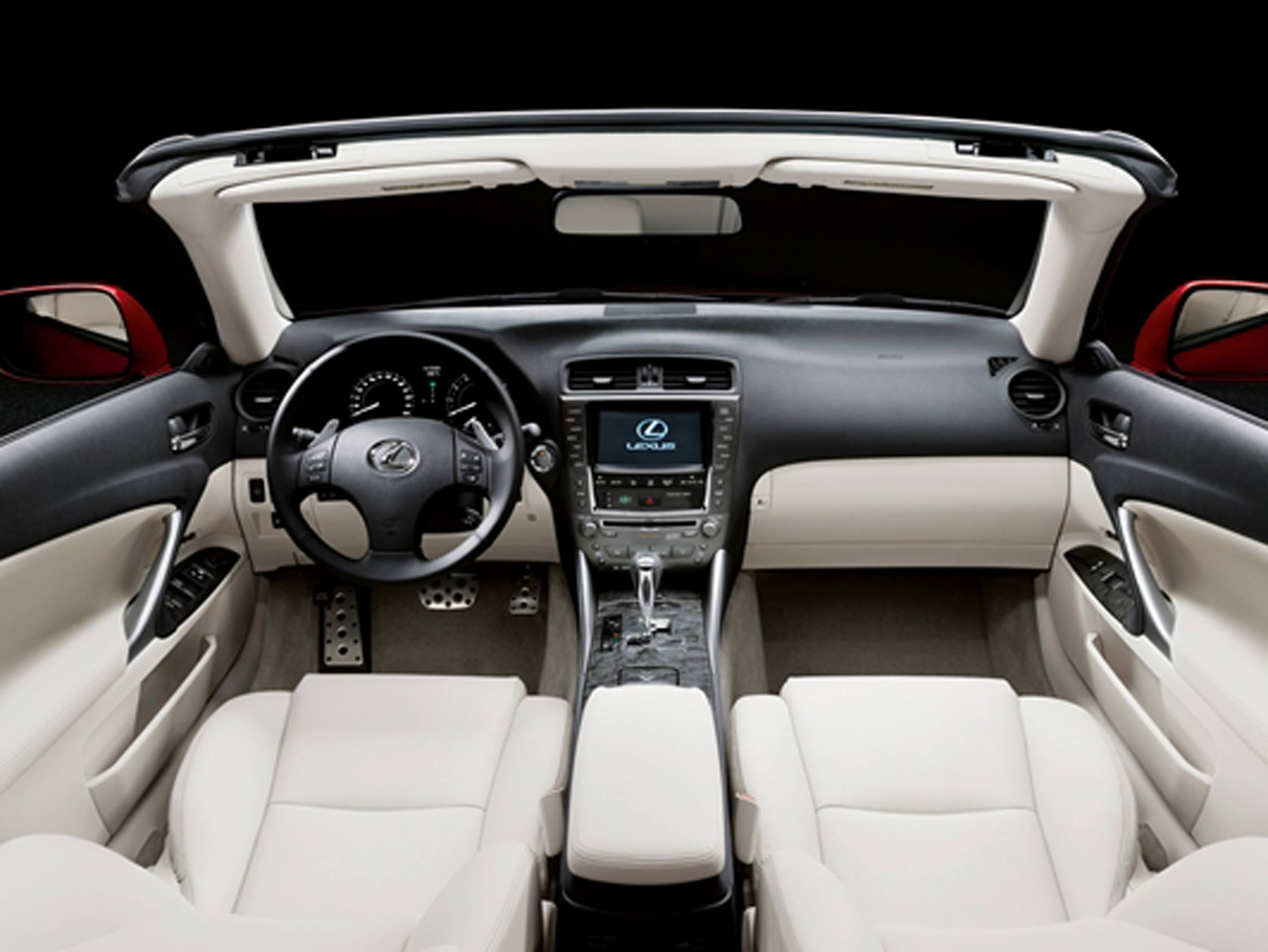 lexus is 250 cabriolet mondial automobile 2008. Black Bedroom Furniture Sets. Home Design Ideas