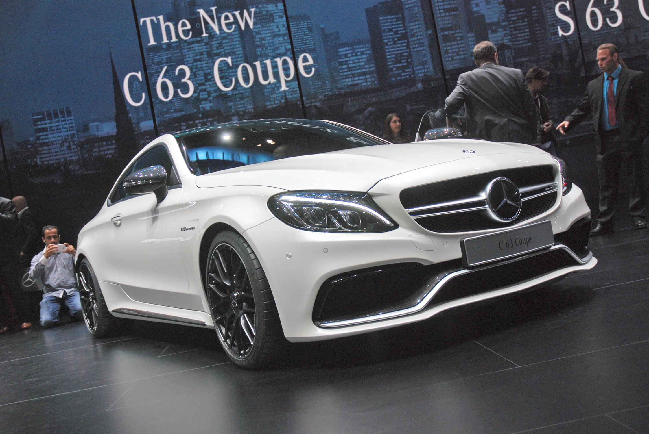 Mercedes classe c coup salon de francfort 2015 for Mercedes salon
