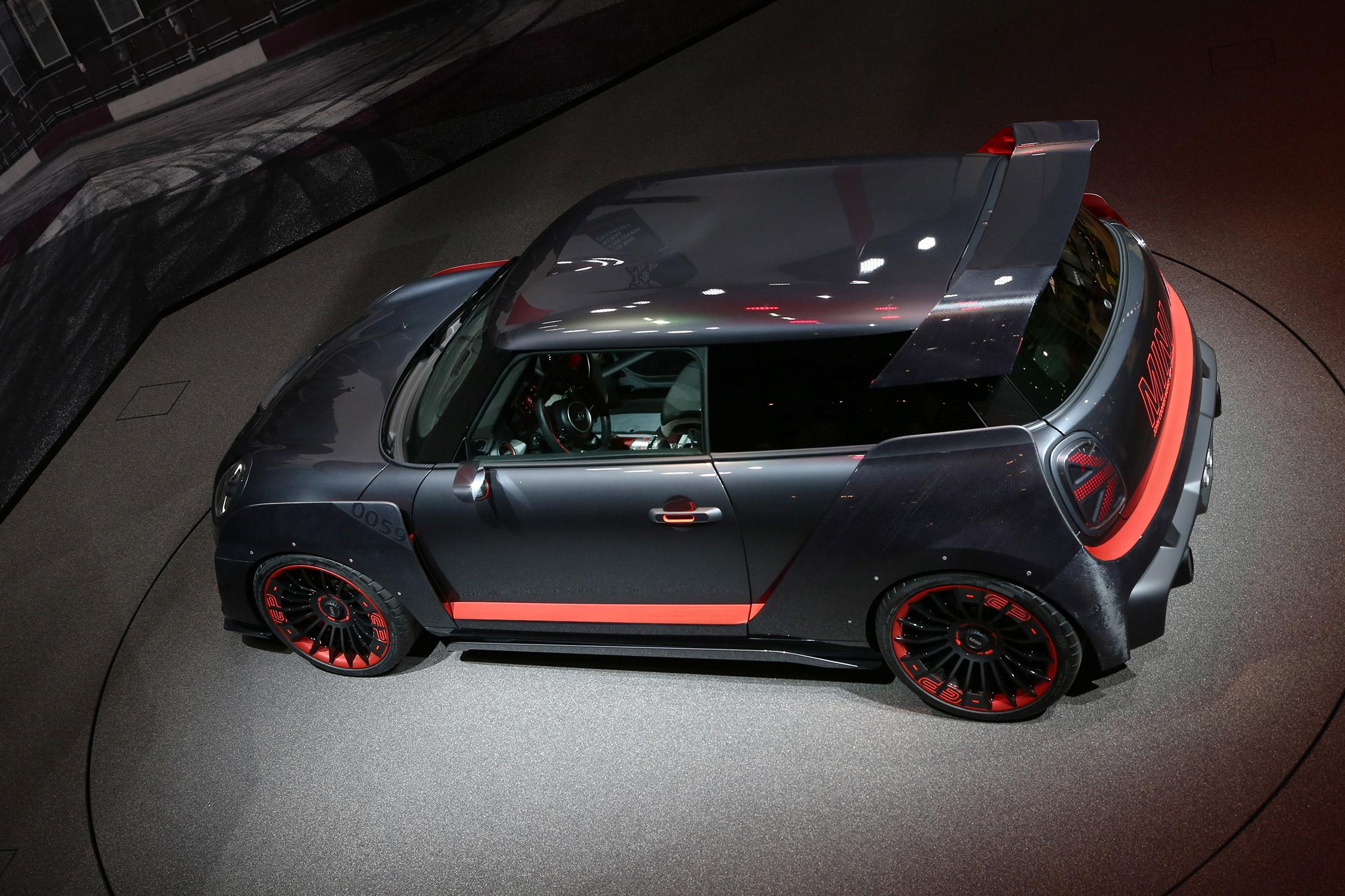 Electric Mini Cooper >> MINI John Cooper Works GP Concept - Salon de Francfort ...