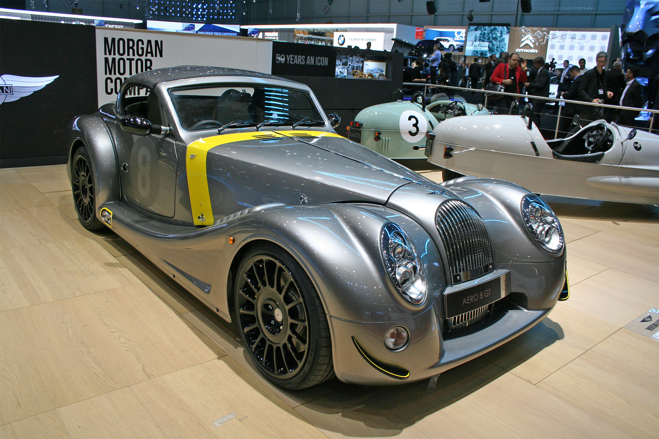 morgan aero gt salon de gen232ve gims 2018 motorlegendcom
