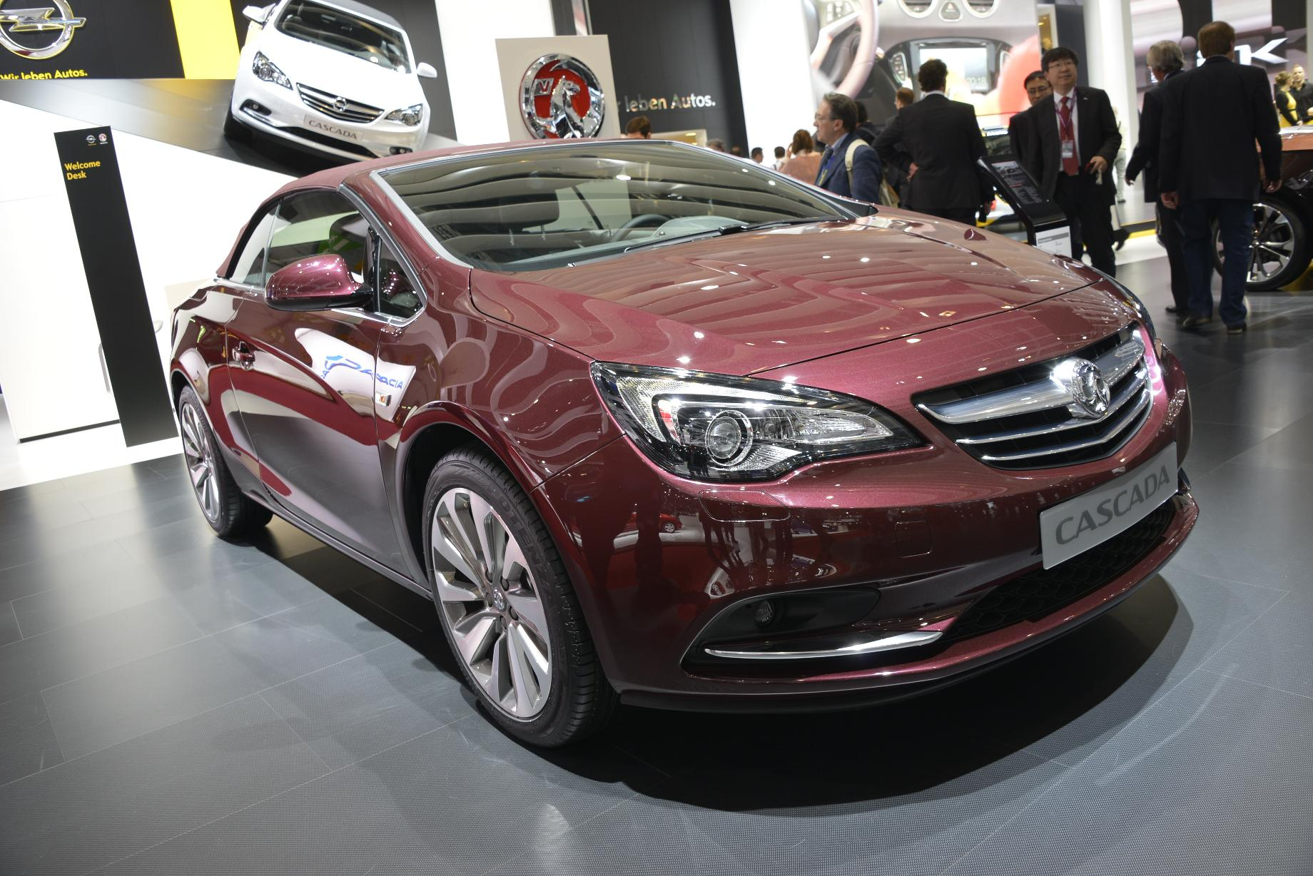 Opel cascada salon de gen ve 2013 for Motor para cascada
