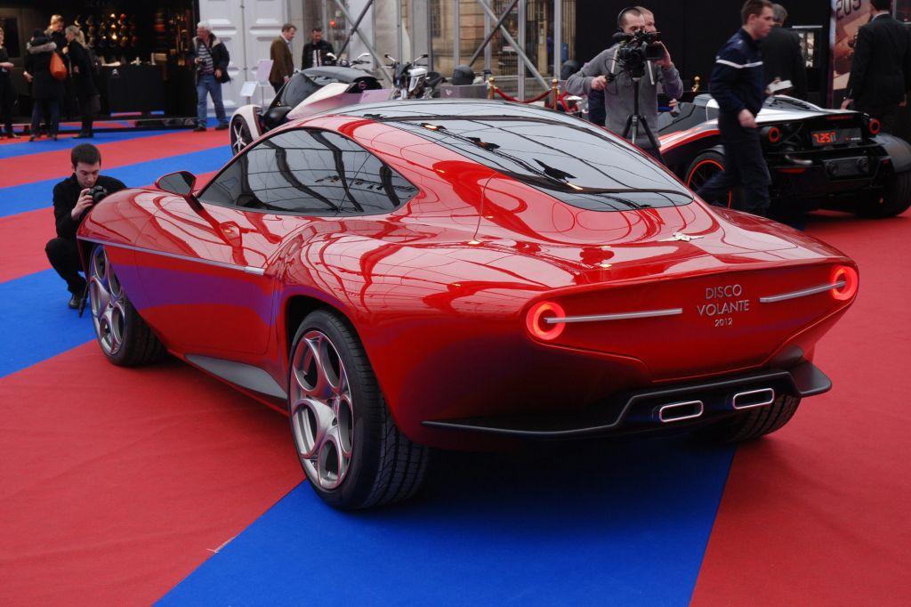 ALFA ROMEO Disco Volante Concept - Salon de Genève 2012.com