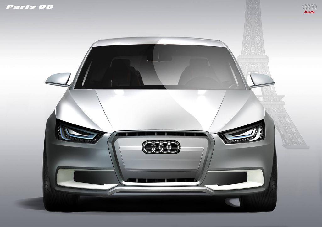 AUDI Sportback Concept - Mondial automobile 2008.com