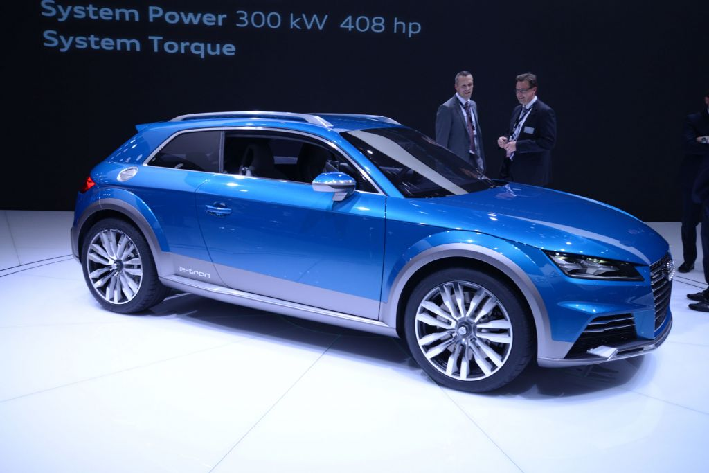AUDI Allroad Shooting Brake - Salon de Detroit 2014.com