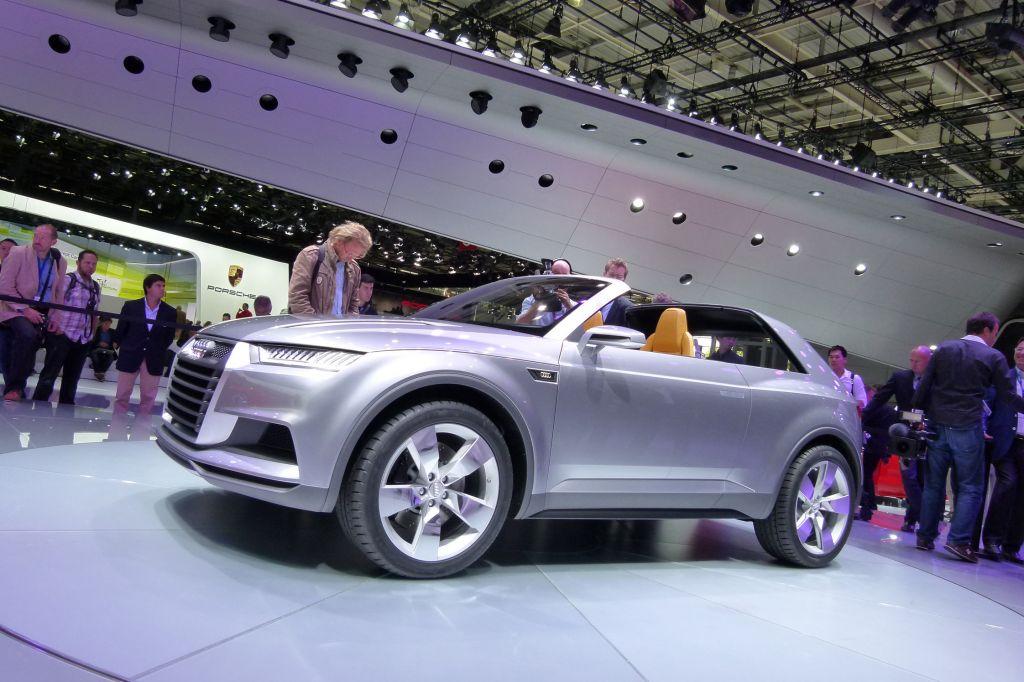 AUDI Crosslane coupé - Mondial de l'Automobile 2012.com