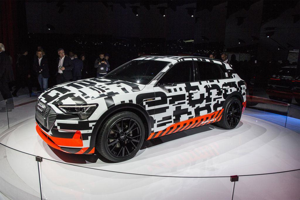 AUDI e-tron Prototype - Salon de Genève - GIMS 2018.com