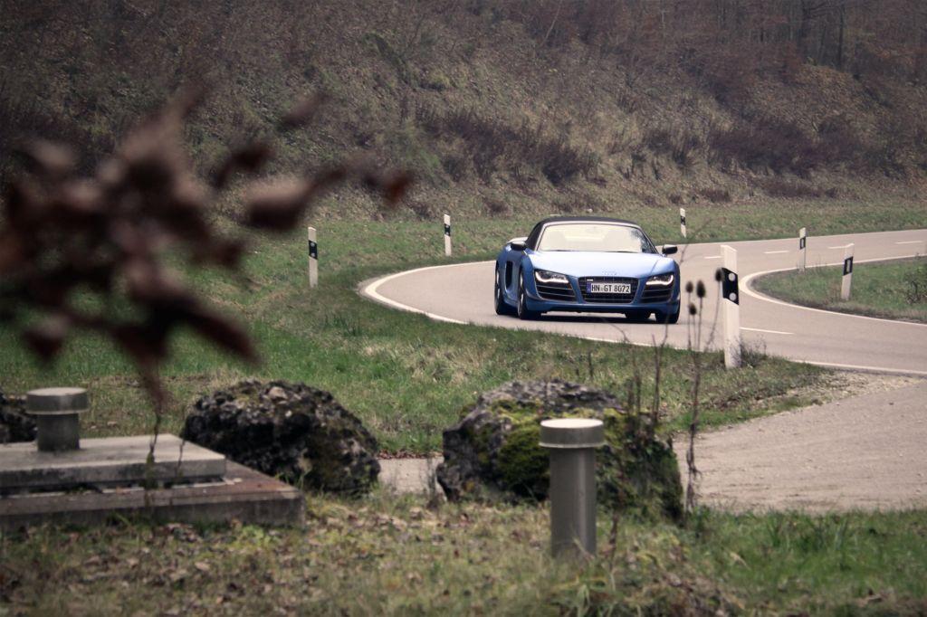 Essai AUDI R8 GT Spyder