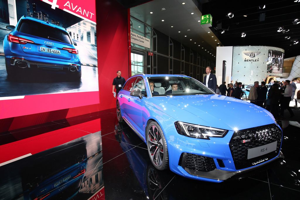 AUDI RS4 Avant (B9) - Salon de Francfort 2017.com