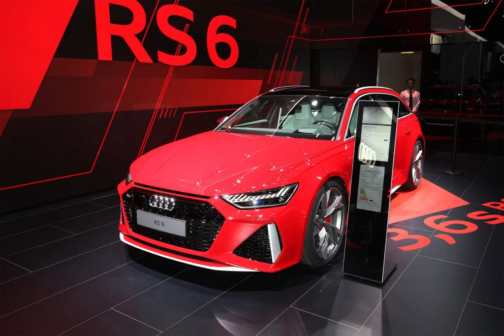 AUDI RS6 Avant (C8) - Salon de Francfort 2019.com