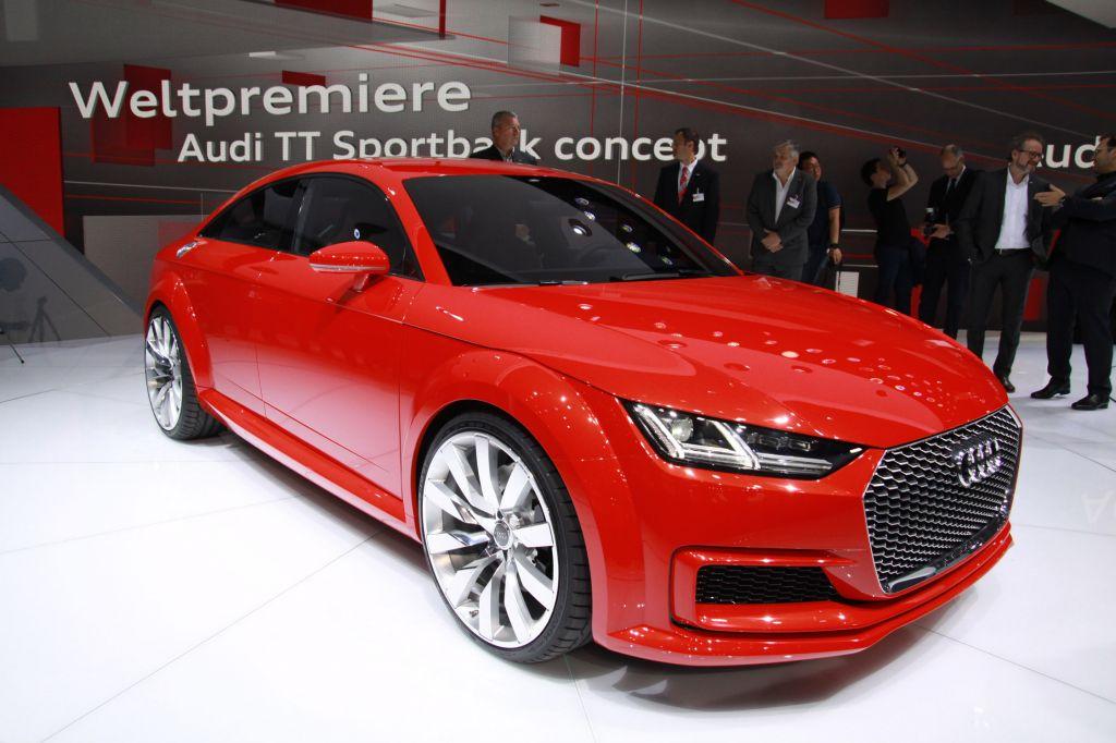 AUDI TT Sportback concept - Mondial de l'Automobile 2014.com