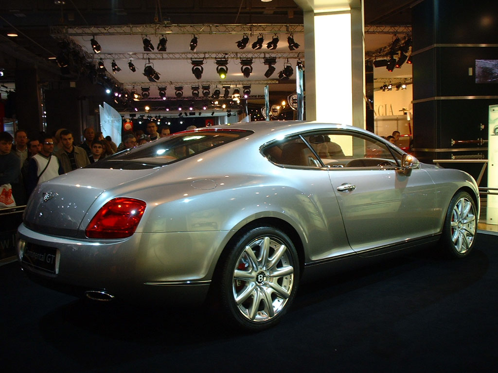 BENTLEY Continental GT - Mondial de Paris 2002.com