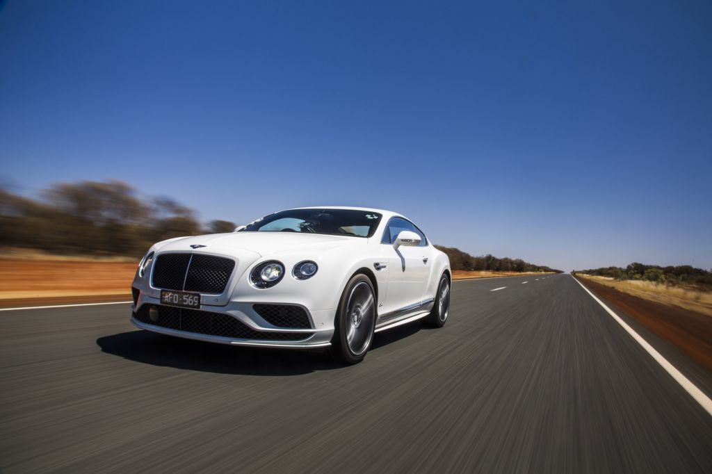 BENTLEY Continental GT restylé