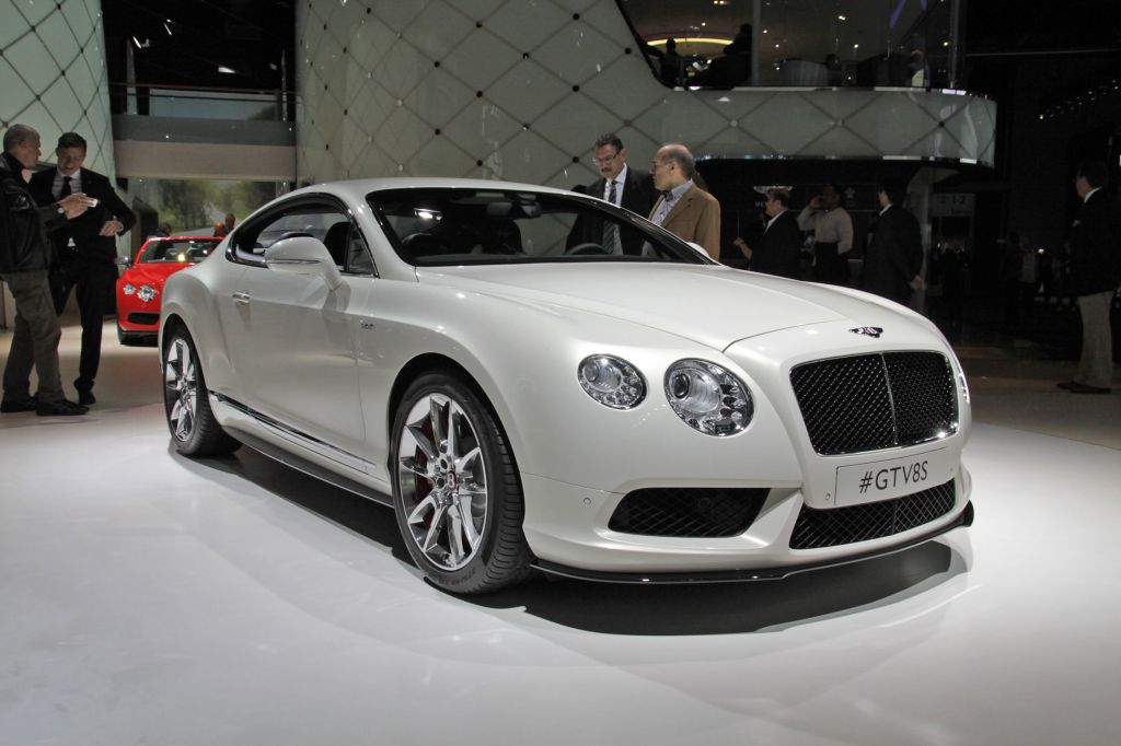 BENTLEY Continental GT V8 S - Salon de Francfort 2013.com