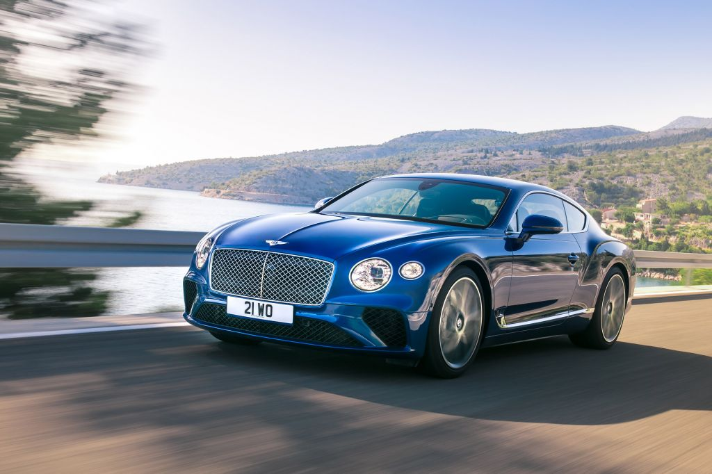 BENTLEY Continental GT III - Salon de Francfort 2017.com