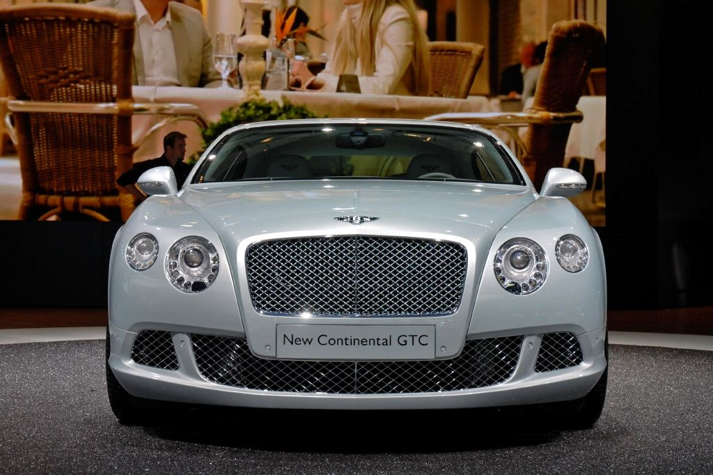 BENTLEY Continental GTC - Salon de Francfort 2011.com