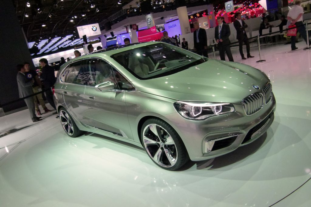 BMW Concept Active Tourer - Mondial de l'Automobile 2012.com