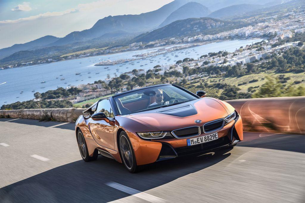 Essai BMW i8 Roadster