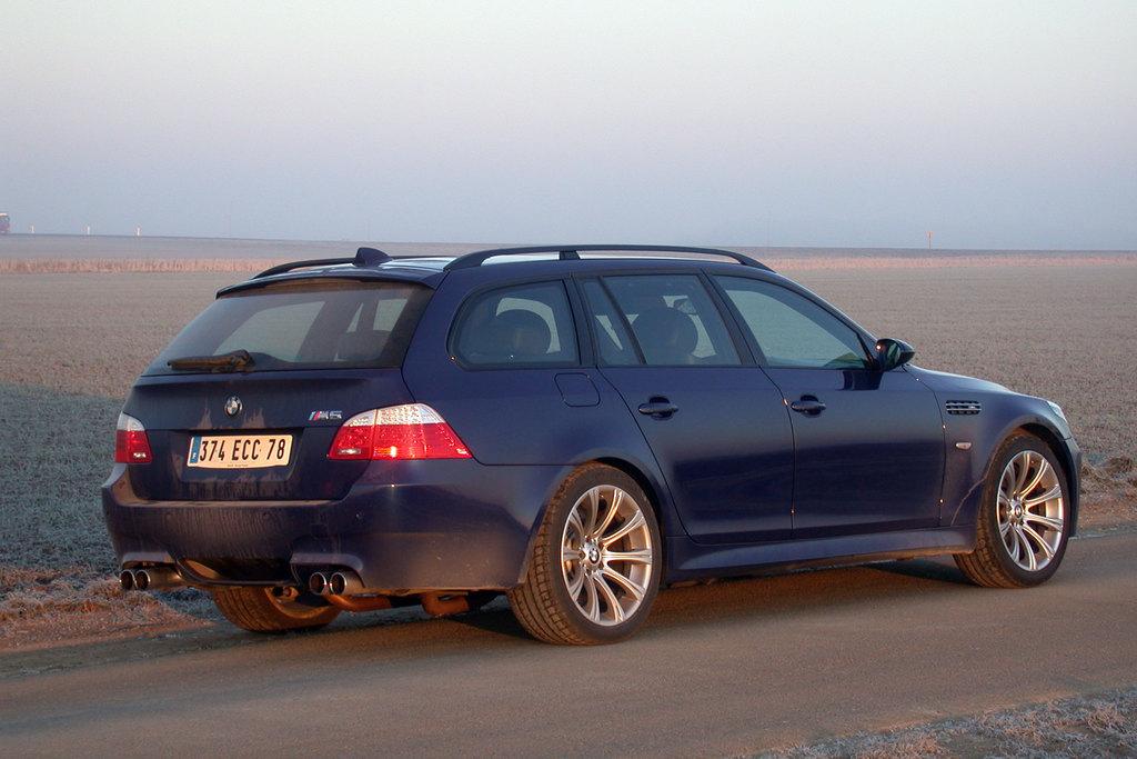 Essai BMW M5 Touring