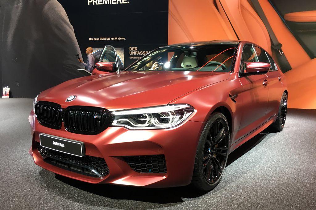 BMW M5 - Salon de Francfort 2017.com