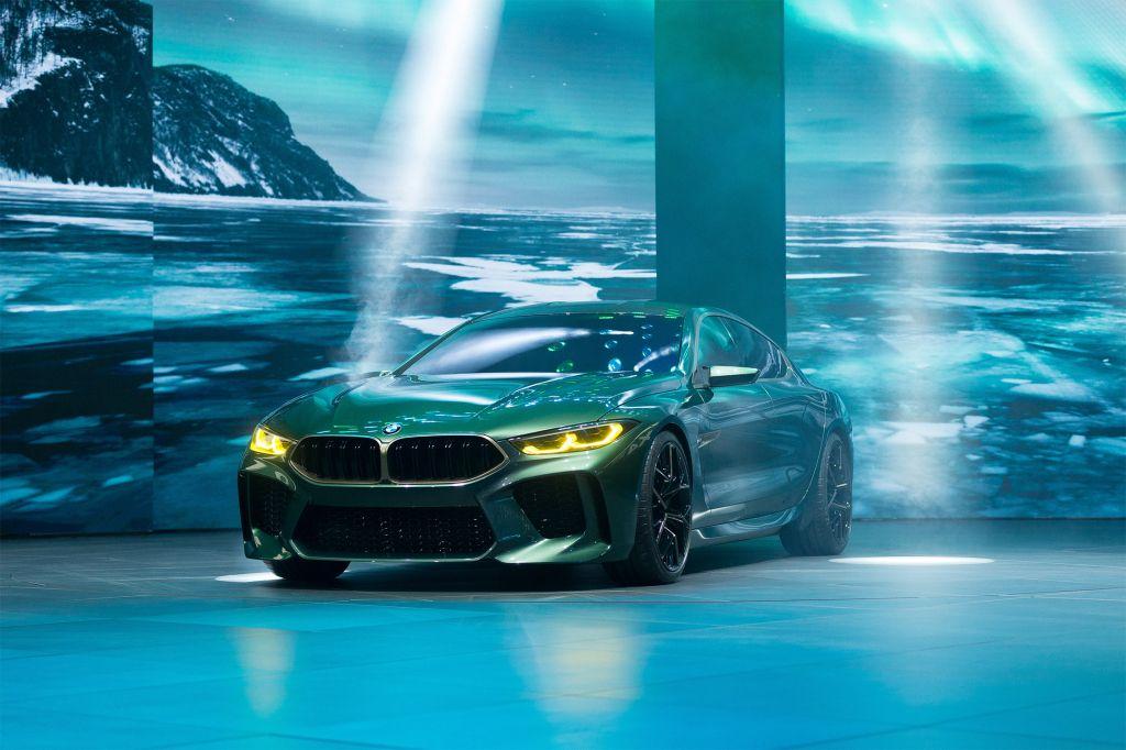 BMW M8 Gran Coupé Concept - Salon de Genève - GIMS 2018.com