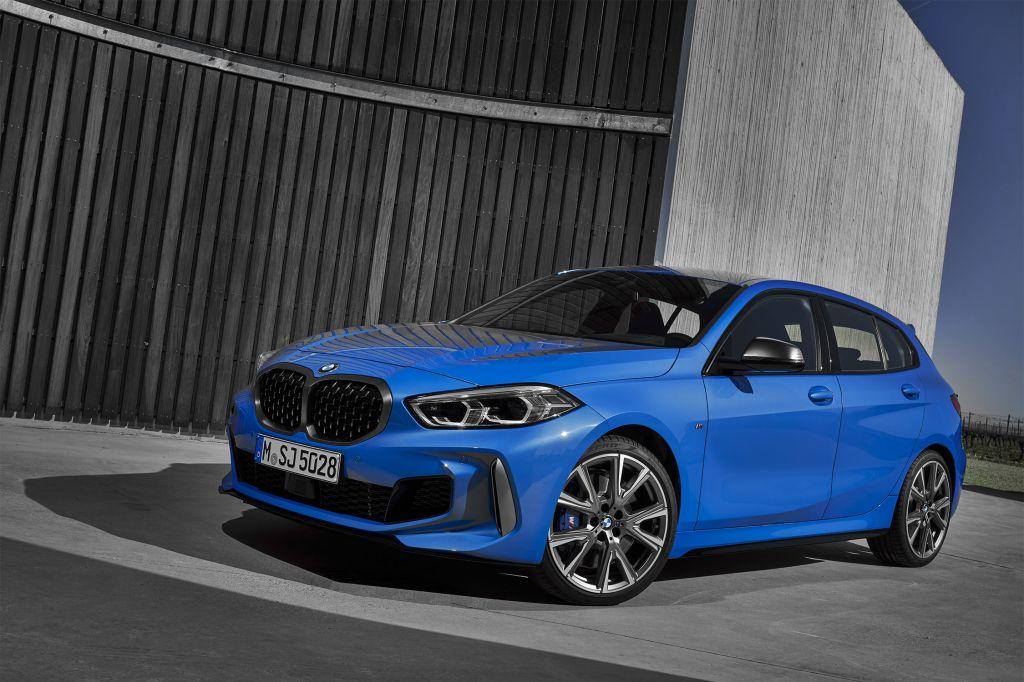 BMW Série 1 (F40) 5 portes - Salon de Francfort 2019.com