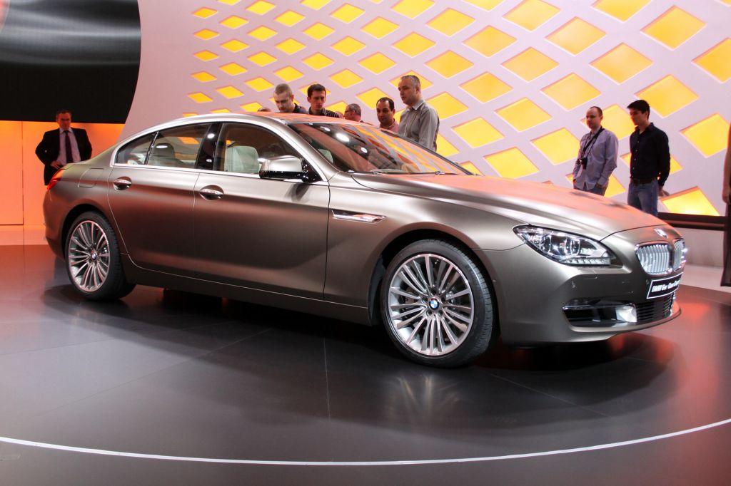 BMW Série 6 Gran Coupé - Salon de Genève 2012.com