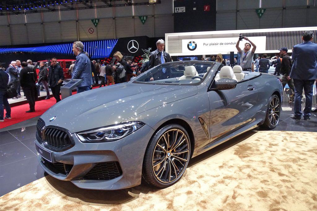 BMW Série 8 cabriolet - Salon de Genève - GIMS 2019.com