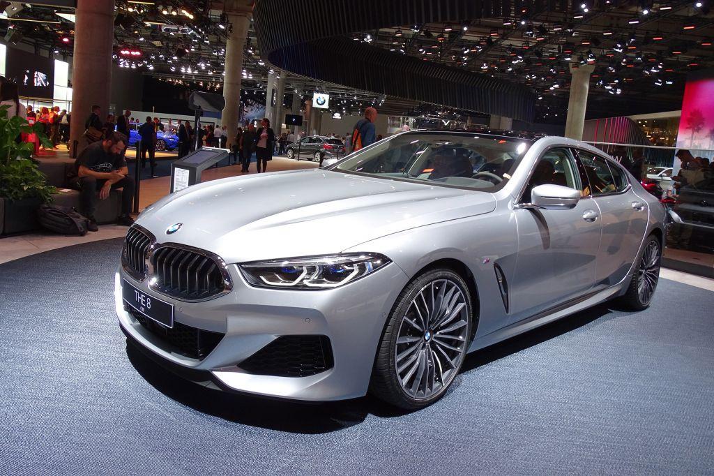 BMW Série 8 Gran Coupé - Salon de Francfort 2019.com