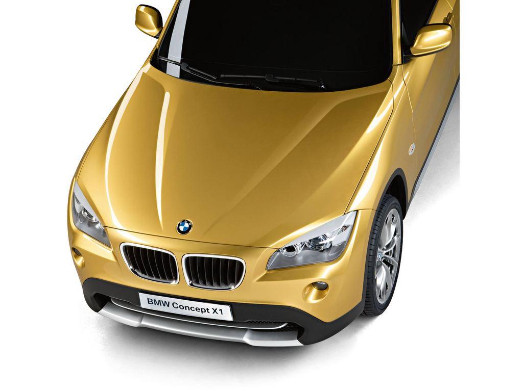 BMW X1 Concept - Mondial automobile 2008.com